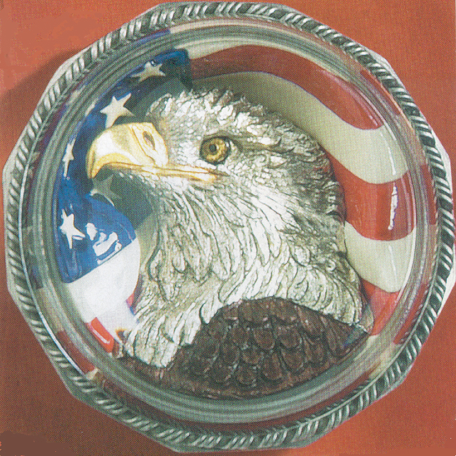THE ALL AMERICAN EAGLE PAPERWEIGHT - Click Image to Close