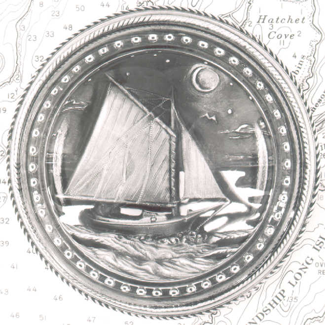 THE FRIENDSHIP SLOOP PAPERWEIGHT - Click Image to Close