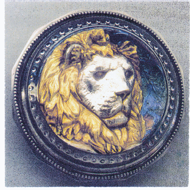 THE LIMITED EDITION LION'S HEAD PAPERWEIGHT