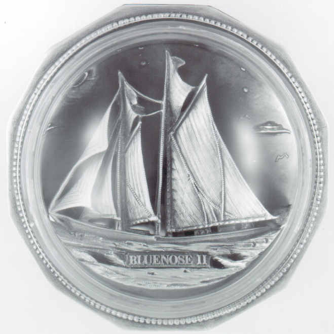 THE BLUENOSE II PAPERWEIGHT