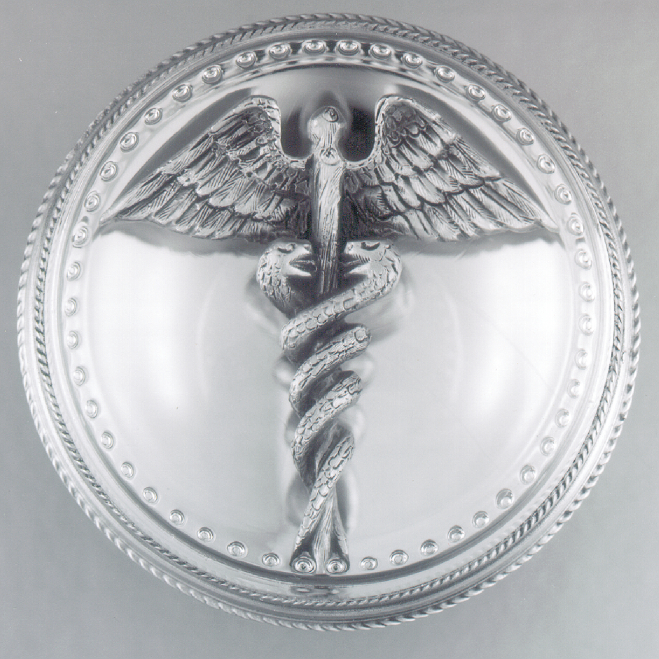 THE CADUCEUS PAPERWEIGHT - Click Image to Close