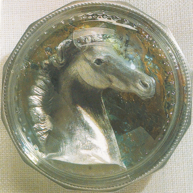 THE PEWTER THOROUGHBRED PAPERWEIGHT