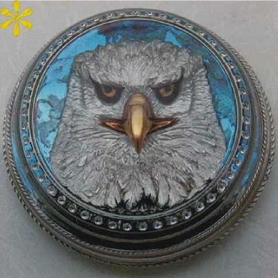 "THE ""RESOLUTE EAGLE"" PAPERWEIGHT"
