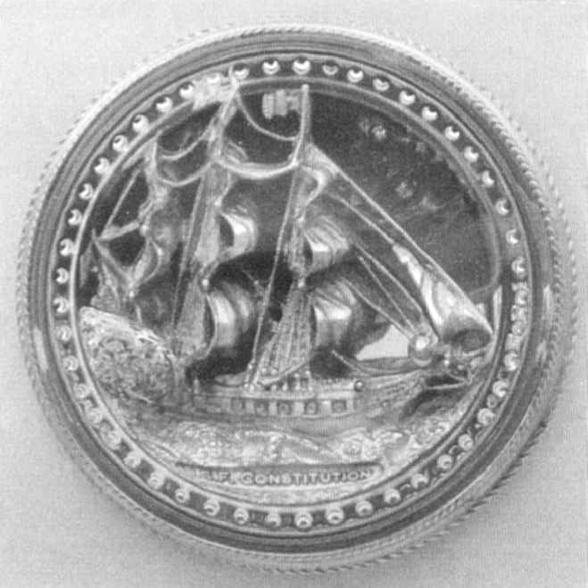 THE USS CONSTITUTION PAPERWEIGHT